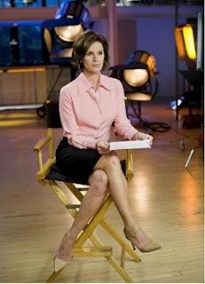 Elizabeth Vargas   Pink Blouse