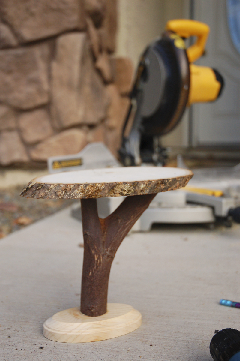 Diy Wooden Stands ~ Diy project rustic wooden cake stands from the cornish