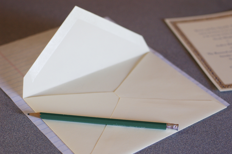 How to Line an Envelope