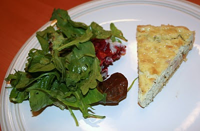 Jersey girl in the kitchen go on with your bad french self Ina garten goat cheese tart