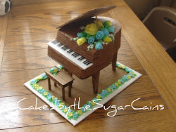 Piano Cake