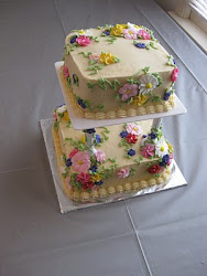 Tiered Flower Cake