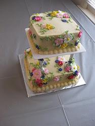 Tiered Flower Cake