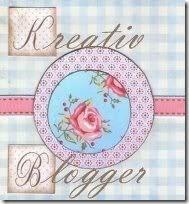 Kreatív blogger - díj. :)