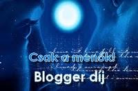 Csak a menők! - Blogger díj
