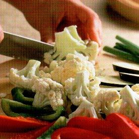 Rehogar Verduras en Wok