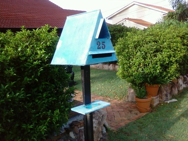 unusual letter boxes. letterboxes, letter time
