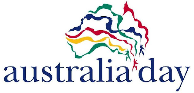 Australia Day national logo colourjpeg We have a holiday today and