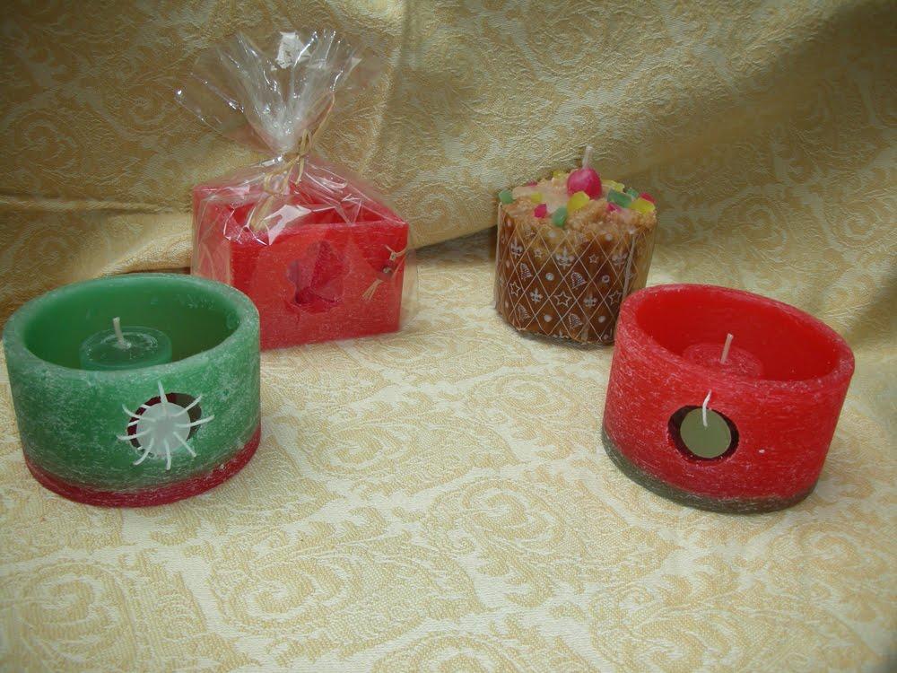 Velas artesanales velas navide as for Velas navidenas