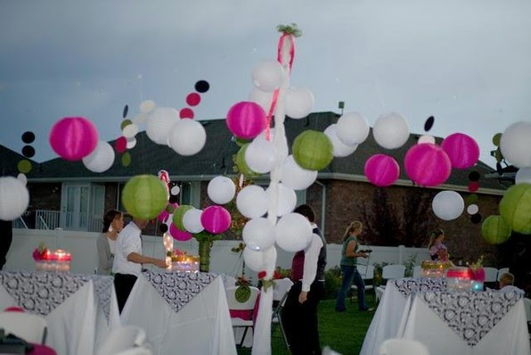 Wedding Decorations For Rent Paper Lanterns