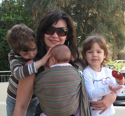 Μια οικογένεια με τρία παιδιά!