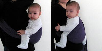 Ιδανική θέση για μωρά - ακροβάτες!