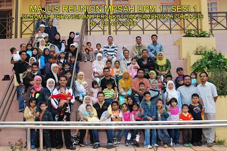 1.Majlis Reunion MPSAH DPM1 / sesi 1.