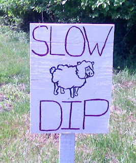 sign at Clagett Farm