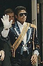Photo of Michael Jackson via Wikipedia