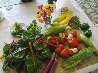 vegetable haul from Clagett Farm