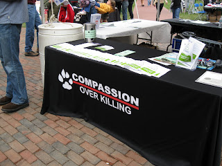 Compassion Over Killing table