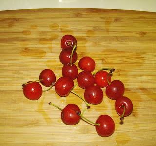 whole fresh tart cherries