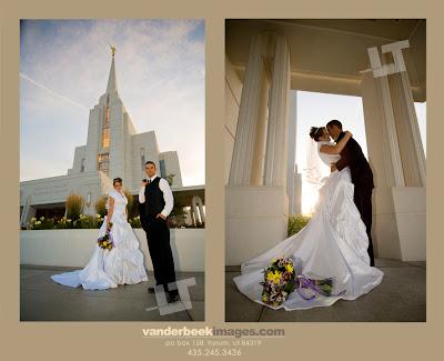 Rexburg Idaho LDS Temple Wedding Photography
