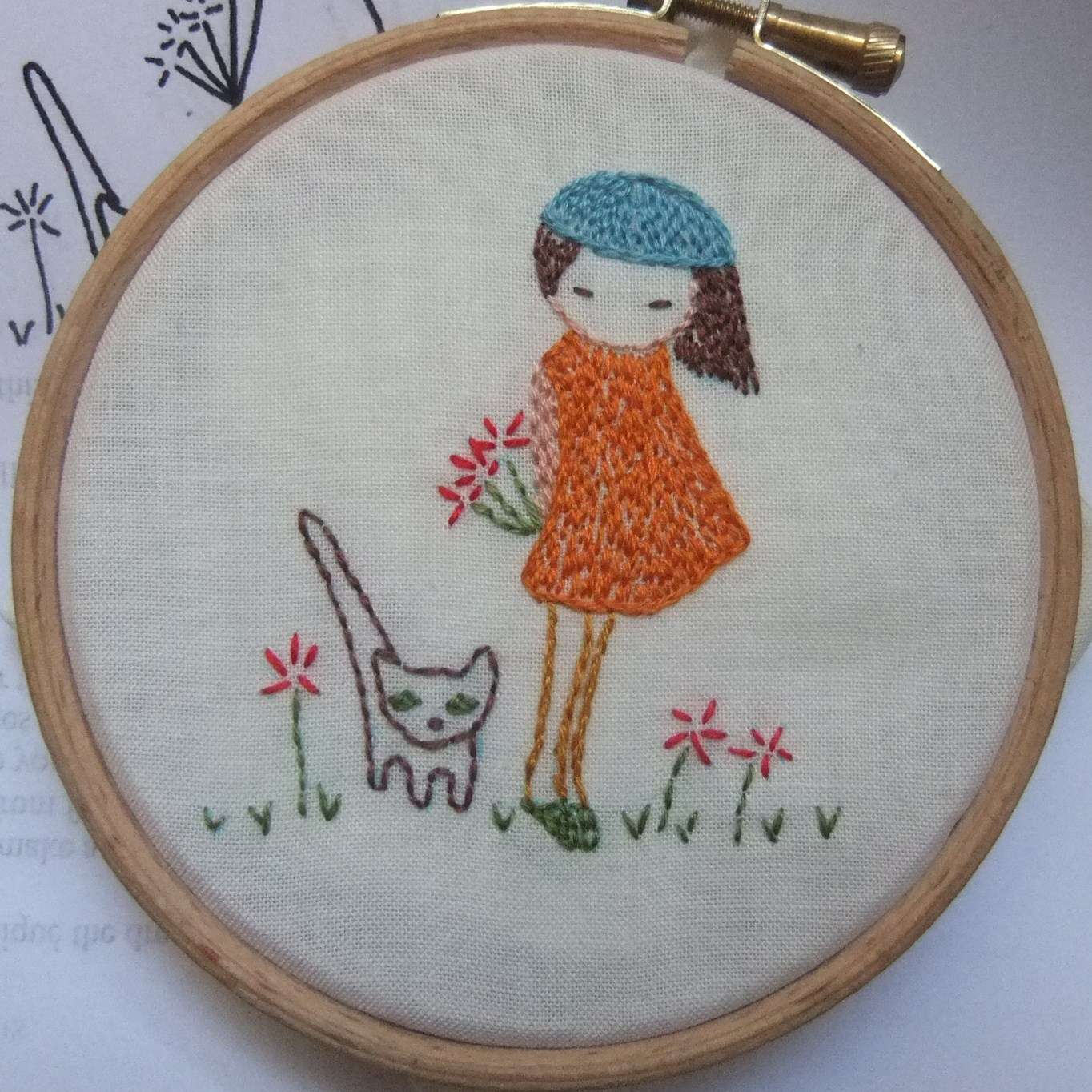 How to transfer embroidery designs free patterns