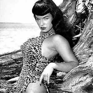 ... quick rip post on the death of bettie page i mentioned then that i d