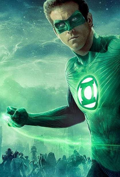 FilmTake Reviews: Ryan Reynolds As Green Lantern: Slim ...