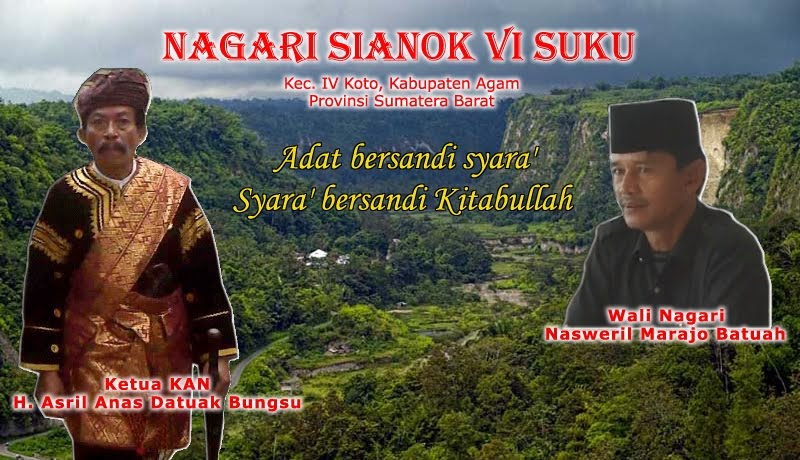Nagari Sianok Anam Suku | Minang Kabau | Padang | Sumatera Barat