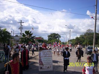 Participaciòn desfile Bicentenario