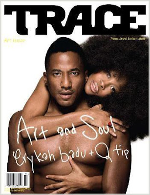 erykah+and+qtip Erykah Badu &amp; Q Tip Cover Trace