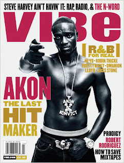 a021507 SPN Brown15 Akon Covers VIBE; Admits Polygamy Claim Was a Publicity Stunt