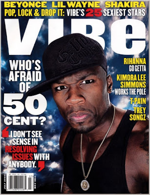 50cent thumb1 50 Cent Covers VIBE Magazine