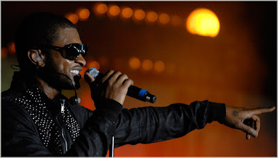 usher+bbc Usher Performs At BBC Radio 1s Big Weekend