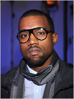 kw+2 Kanye West At Lanvin Fashion Show