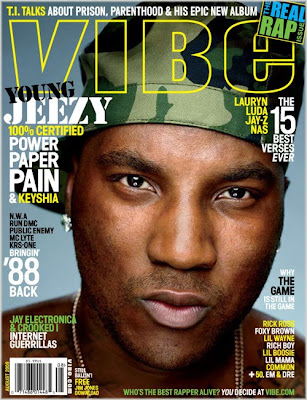 jeezy cover aug 08 Young Jeezy Covers Vibe; Talks Keyshia Cole