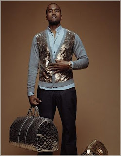 Kanye West Teams Up With Louis Vuitton