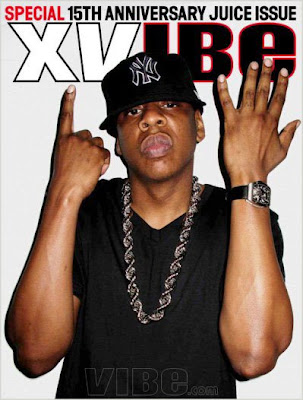 Jay-Z Covers VIBE's 15th Anniversay Cover