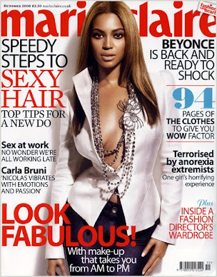 Beyonce Covers Marie Claire