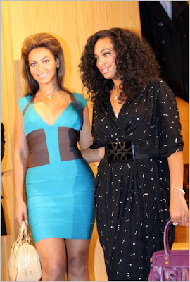 bsol3 Beyonce &amp; Solange Hit Tokyo
