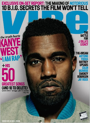 Kanye West Covers VIBE
