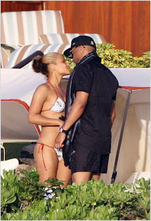 Christina Milian & The-Dream Kissing