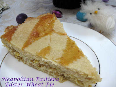 Ciao Chow Linda: Neapolitan Pastiera - Easter Wheat Pie