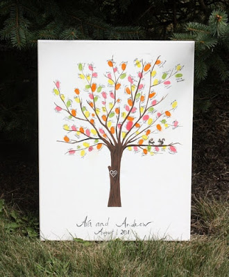 Wedding Guest Book Sign In