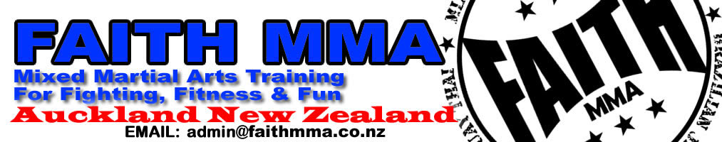 Faith MMA Auckland Mixed Martial Arts Muay Thai NZ