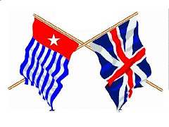 Bendera Papua Barat dan Bendera Inggris