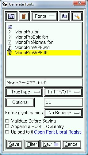 Electronic Dissonance: Raster fonts in Visual Studio 2010