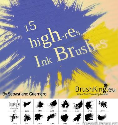 [DESCARGA] Varios brushes para Photoshop BK_Ink_Brushwork