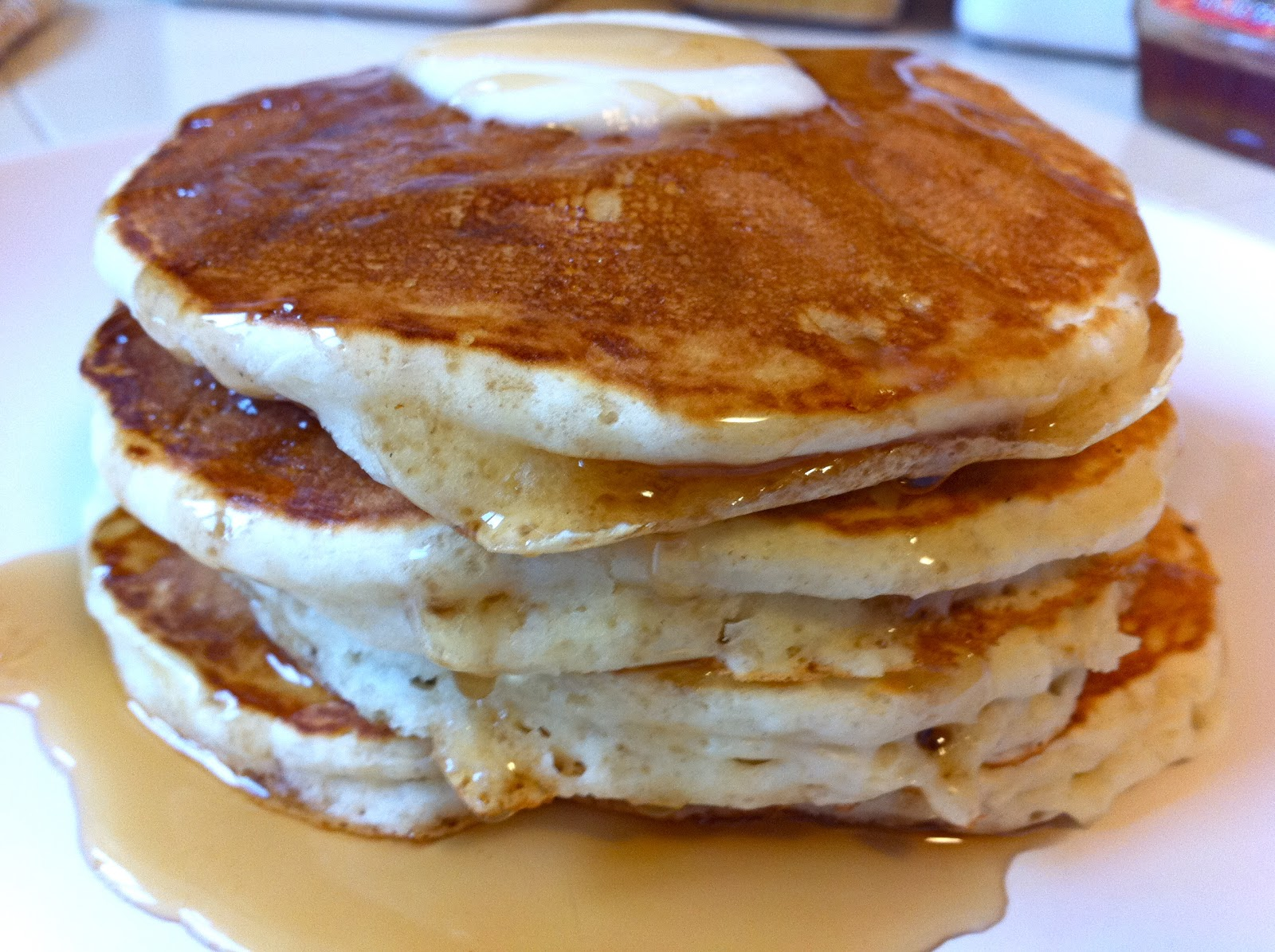 Mangoes & Lemons: Good Old-Fashioned Pancakes