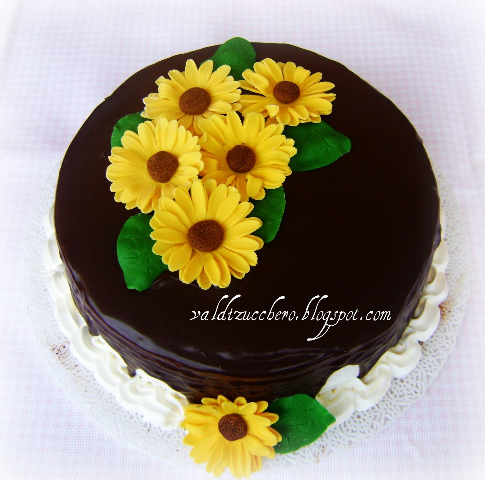 Torte Matrimonio Girasoli : Val di zucchero torta girasoli