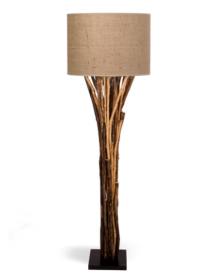 The green room interiors chattanooga tn interior for Chunky wooden floor lamp