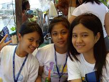 Nadine with classmates